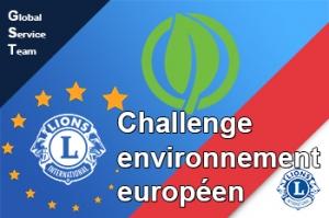 challenge européen environnement