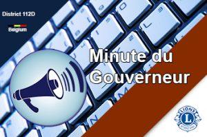 minute du gouverneur